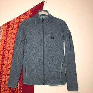 Full zip Patagonia better sweater